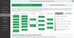 Case study diagram from Supergen Bioenergy Hub application
